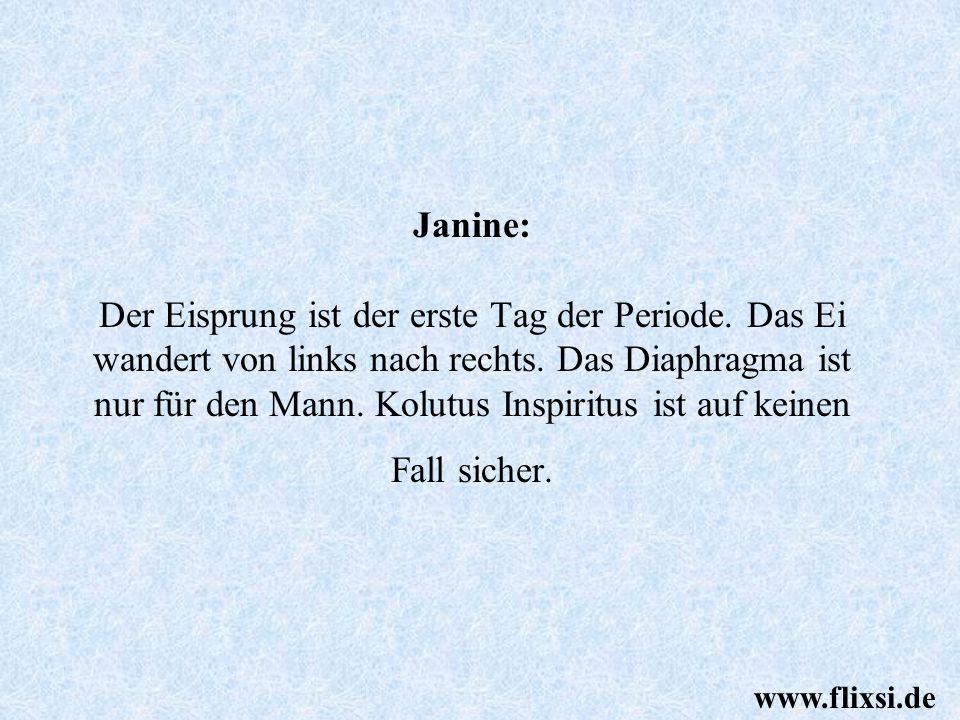 Inspiritus....? Schlafzimmer anzünden verhindert bestimmt auch Schwangerschaften! www.flixsi.de