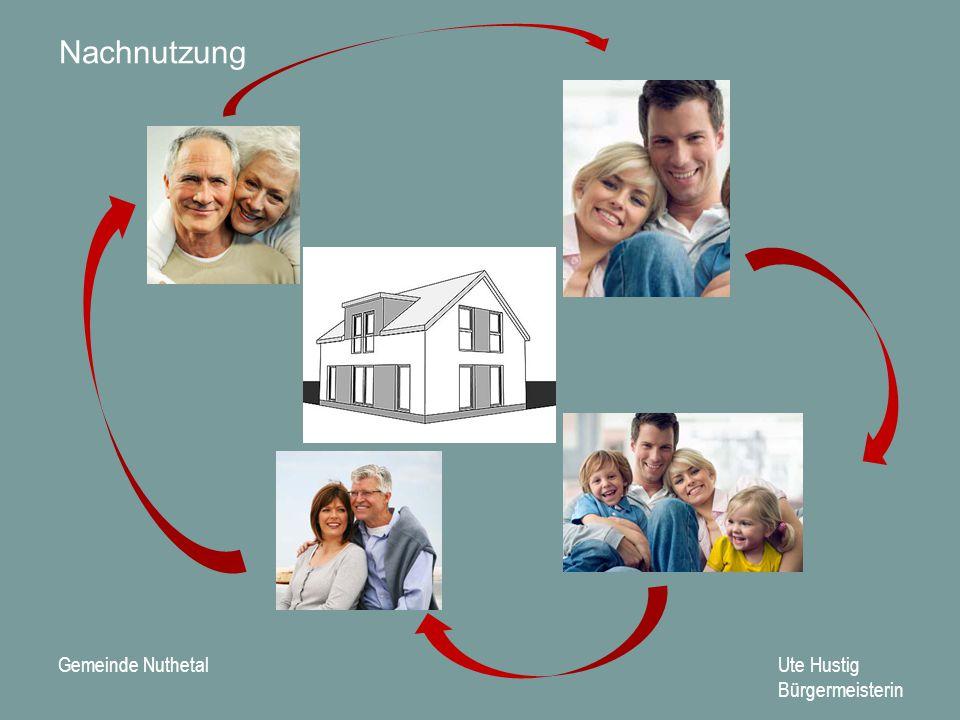 Gemeinde Nuthetal Ute Hustig Bürgermeisterin Mehrgenerationenhaus Sanierung durch Rentnerbrigade