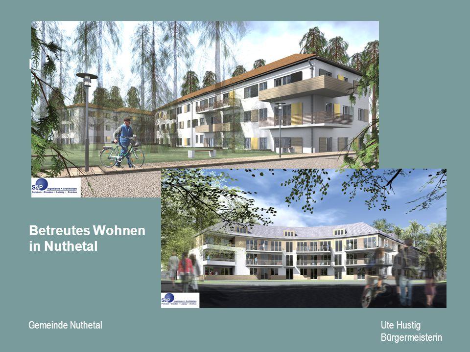 Gemeinde Nuthetal Ute Hustig Bürgermeisterin Mehrgenerationenhaus Betreutes Wohnen in Nuthetal