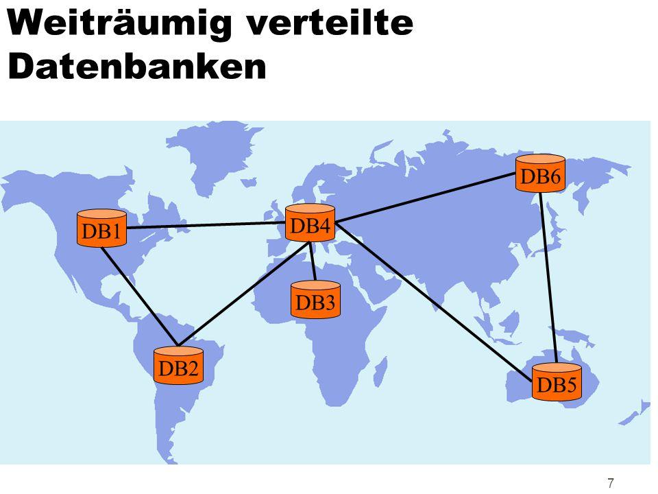 98 Fehlertoleranz: Redundanz/Replikation der DNS Root name Server Name Server für.de