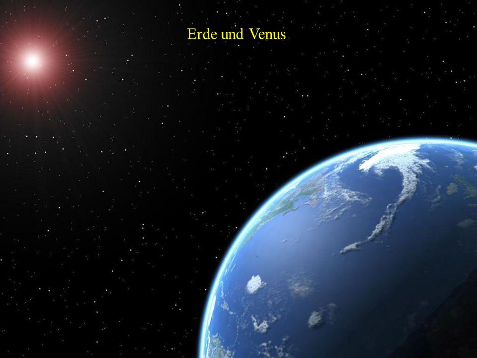 Die Phasen der Venus relativ zur Erde und ihrer Beobachtbarkeit Der Planet Venus umkreist die Sonne in der mittleren Entfernung von etwa 108 Millionen
