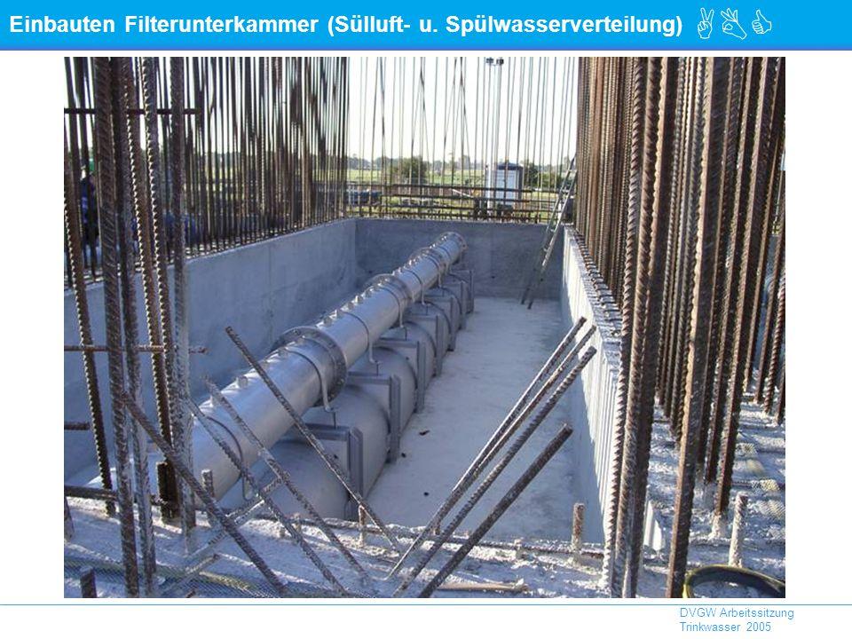 ABC DVGW Arbeitssitzung Trinkwasser 2005 Einbauten Filterunterkammer (Sülluft- u.