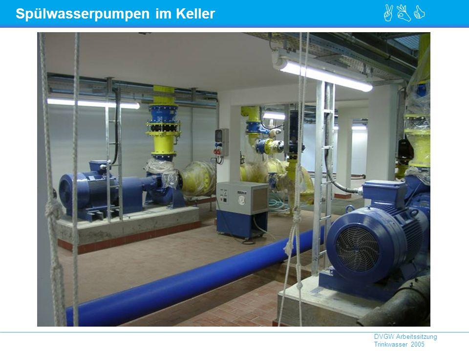 ABC DVGW Arbeitssitzung Trinkwasser 2005 Spülwasserpumpen im Keller