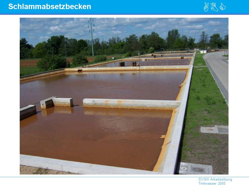ABC DVGW Arbeitssitzung Trinkwasser 2005 Schlammabsetzbecken