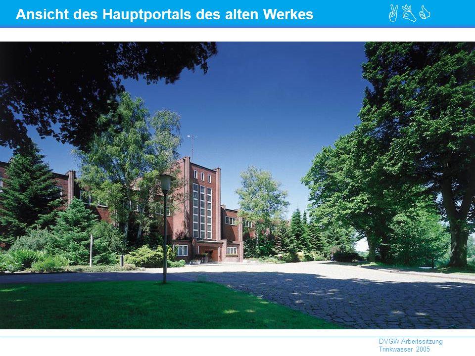ABC DVGW Arbeitssitzung Trinkwasser 2005 Filtergebäude, Verwaltung und Werkstatt- und Sozialgebäude