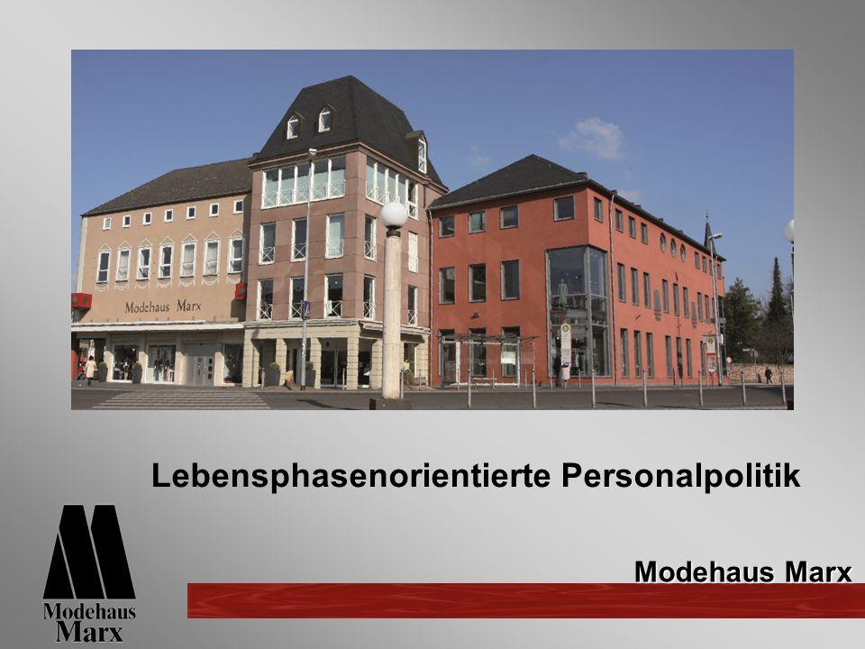 Modehaus Marx Lebensphasenorientierte Personalpolitik