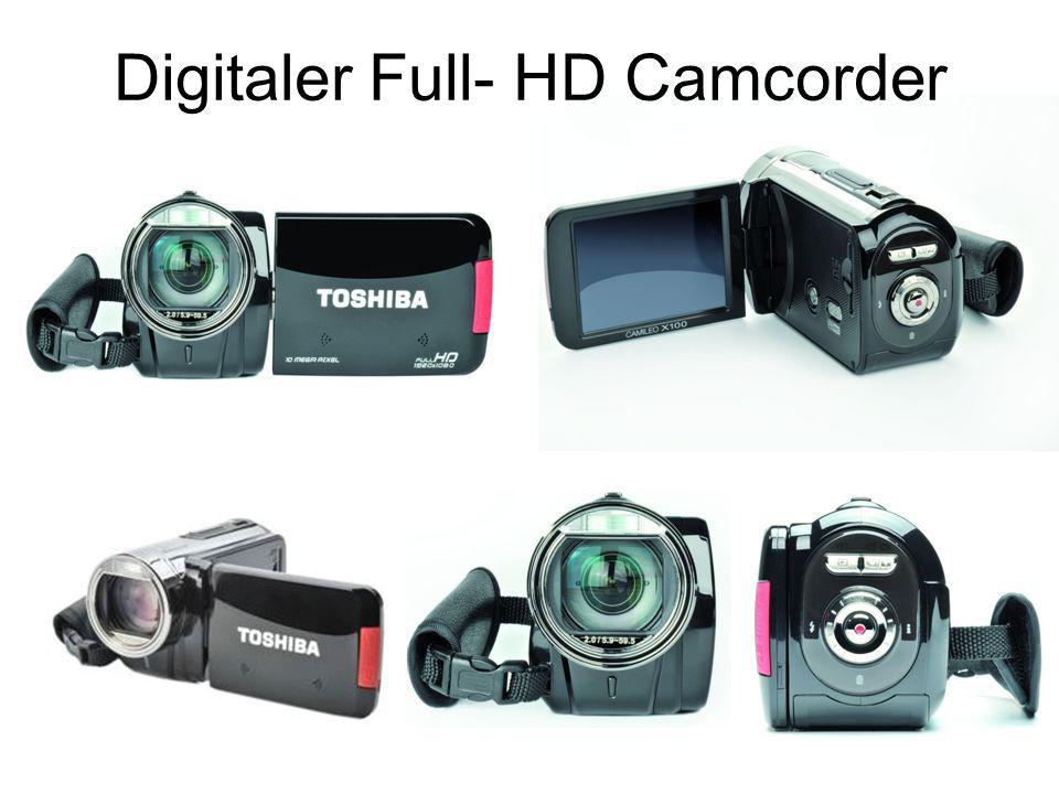 Digitaler Full- HD Camcorder
