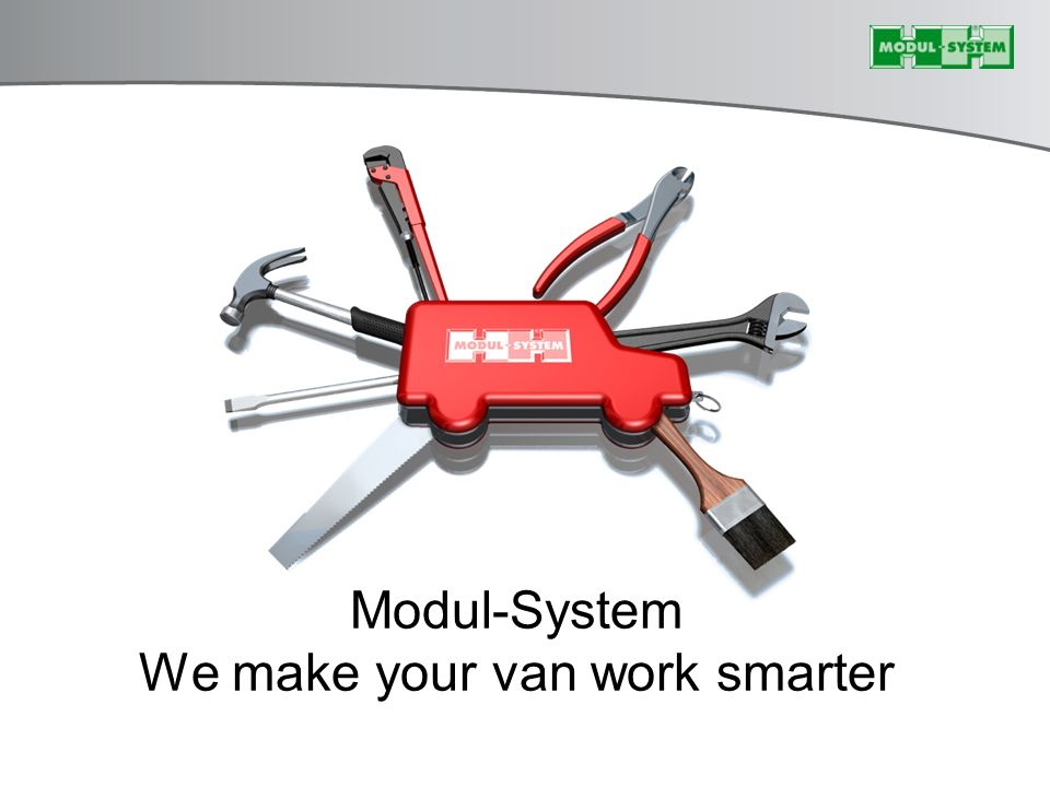 Modul-System We make your van work smarter