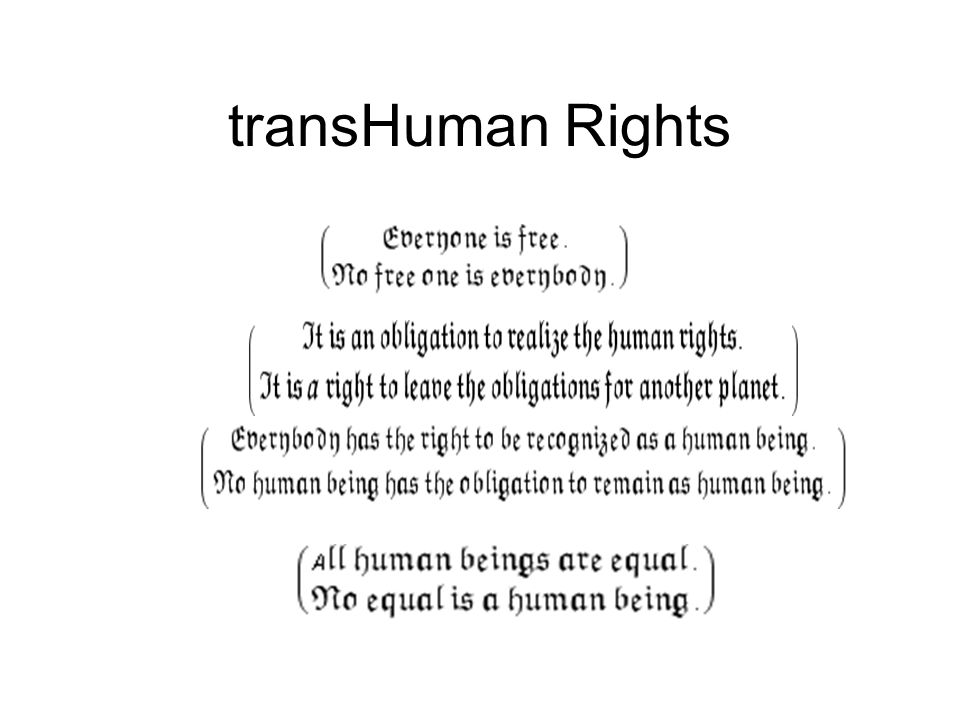 transHuman Rights
