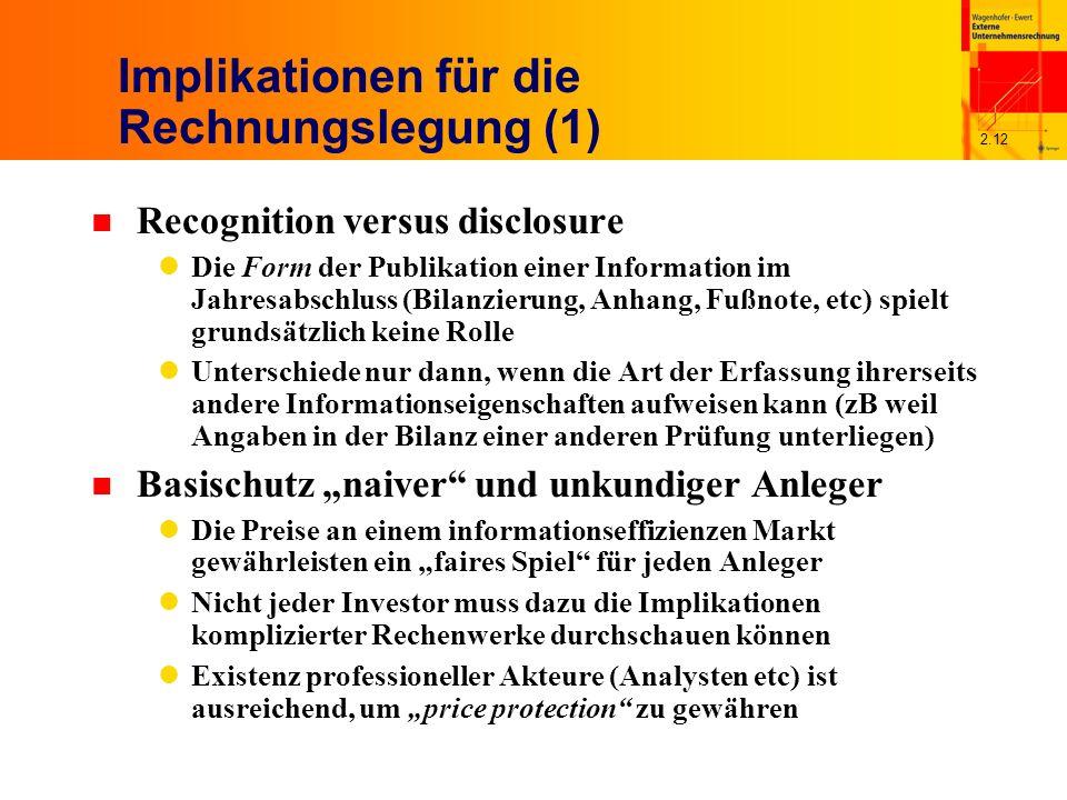 21 Rechnungslegung Und Kapitalmarkt Wagenhoferewert Alle Rechte