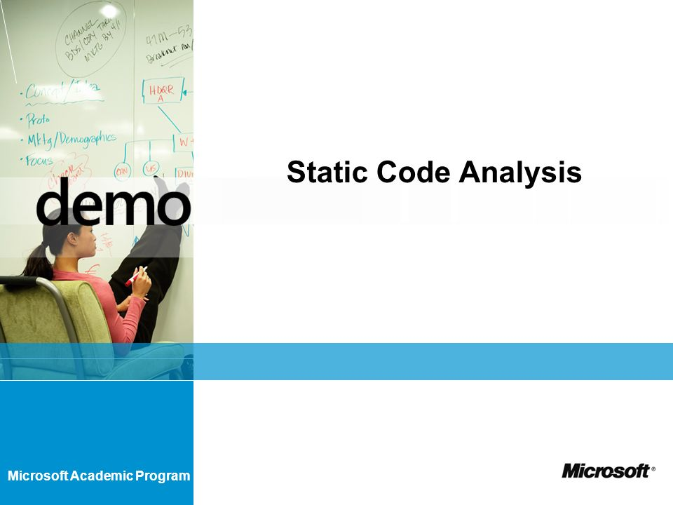 Microsoft Academic Program Static Code Analysis