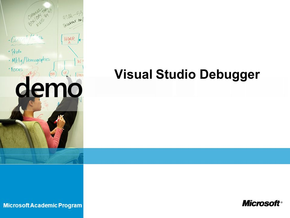 Microsoft Academic Program Visual Studio Debugger
