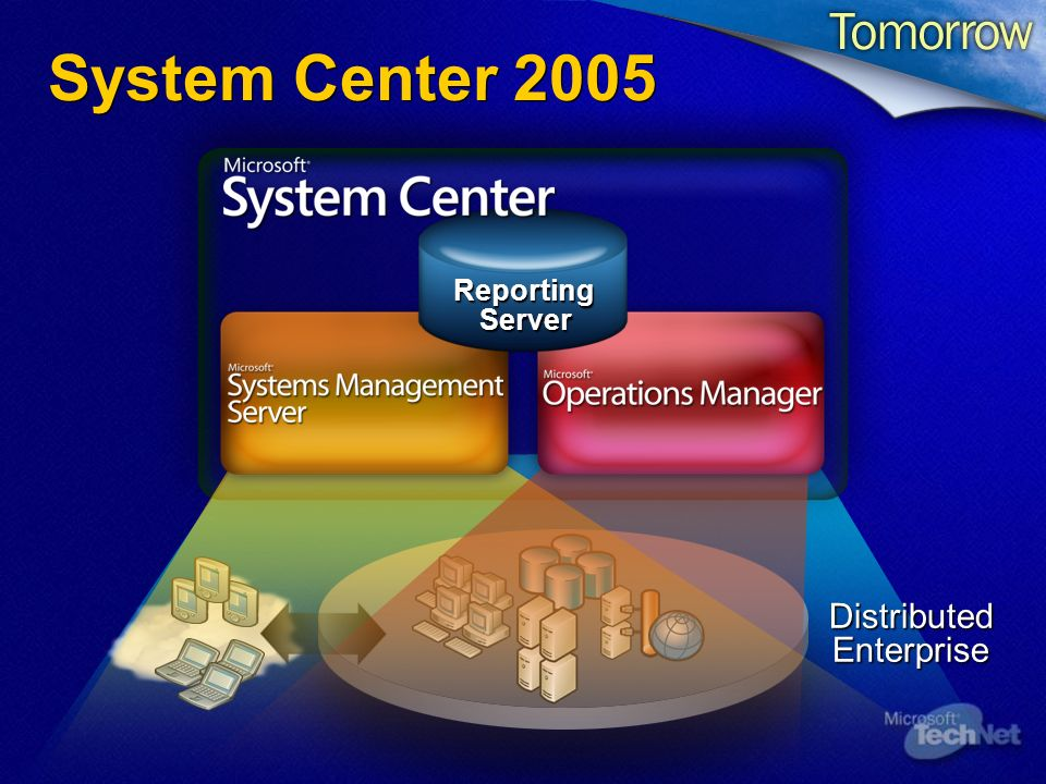System Center 2005 Distributed Enterprise Reporting Server