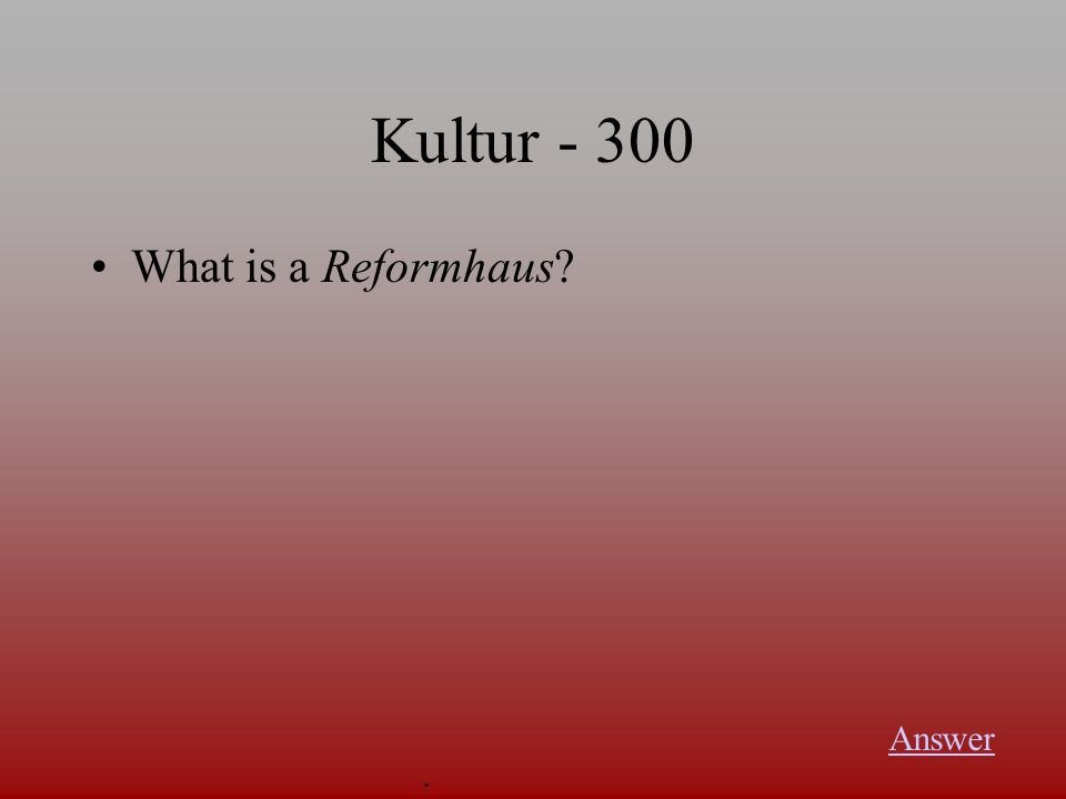 Kultur Unprocessed, all-natural food is … in German Answer.