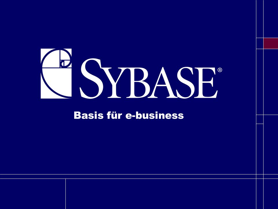 Basis für e-business