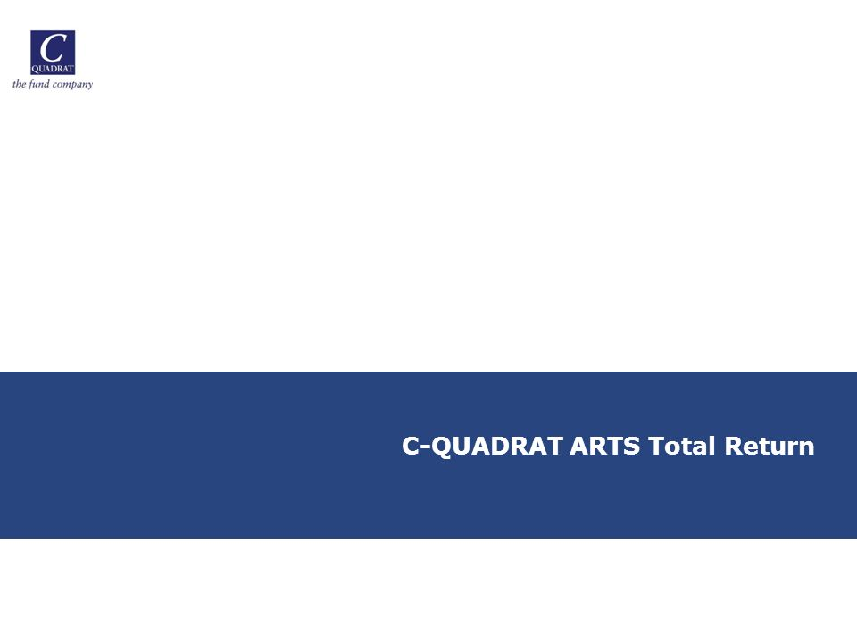 C-QUADRAT ARTS Total Return