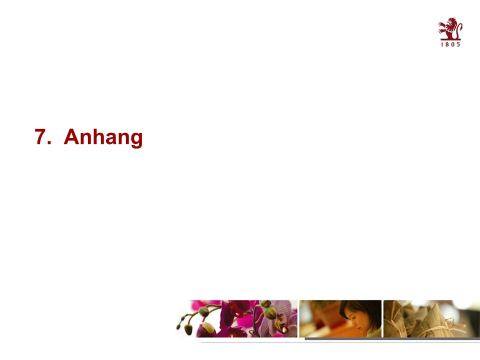 34 Table of contents 7. Anhang