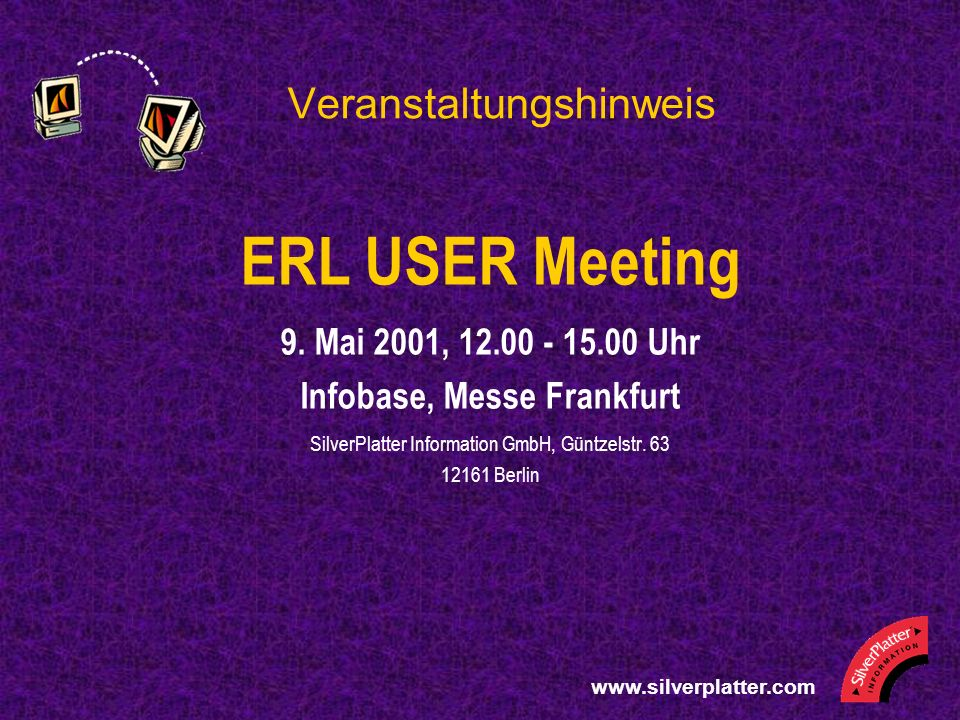 ERL USER Meeting 9.