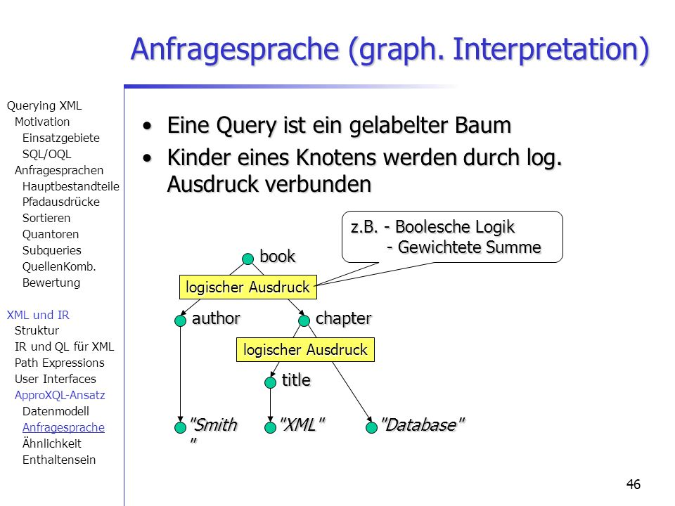 46 Database Anfragesprache (graph.