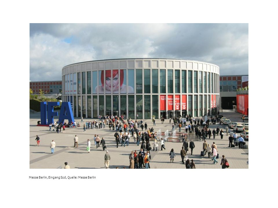 Messe Berlin, Eingang Süd, Quelle: Messe Berlin