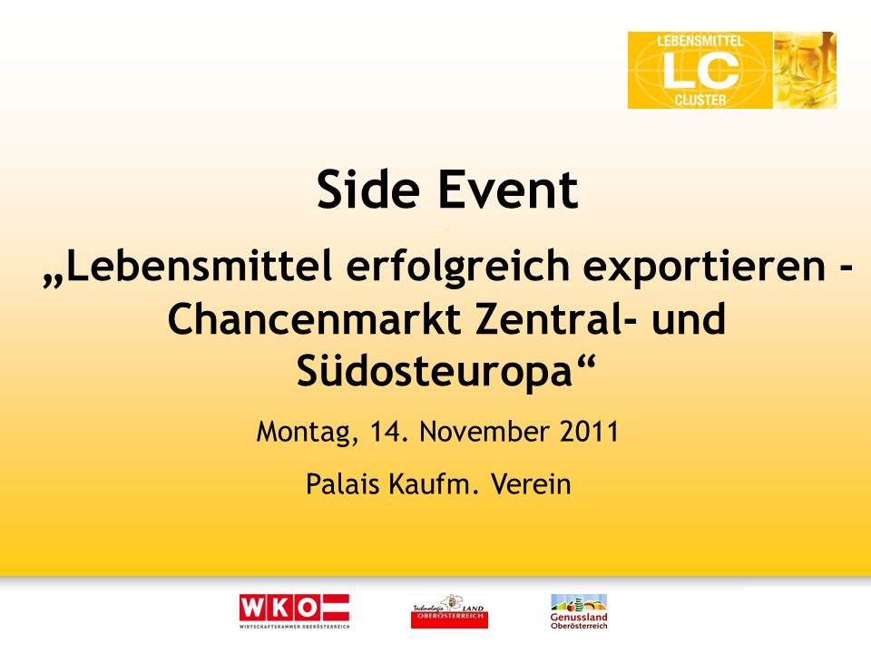 Side Event.