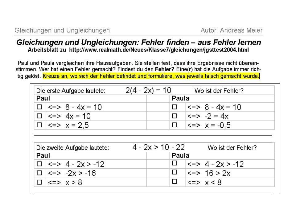 Atemberaubend Lösen Von Gleichungen Und Ungleichungen Arbeitsblatt ...
