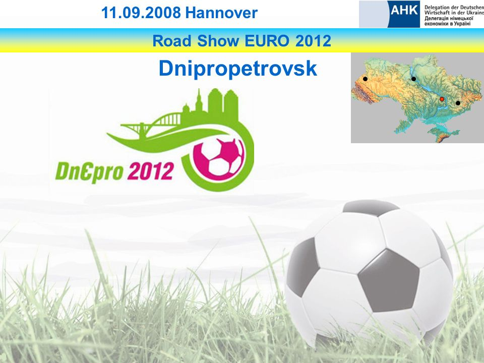 Road Show EURO Hannover Dnipropetrovsk