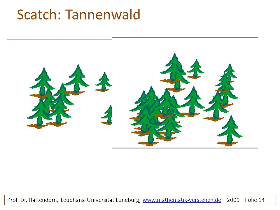 Scatch: Tannenwald Prof. Dr.