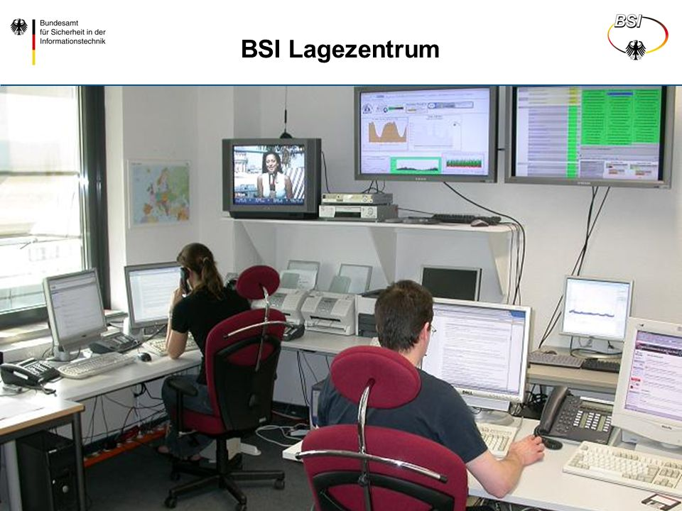 BSI, 122, Bierwirth Folie 27 BSI Lagezentrum