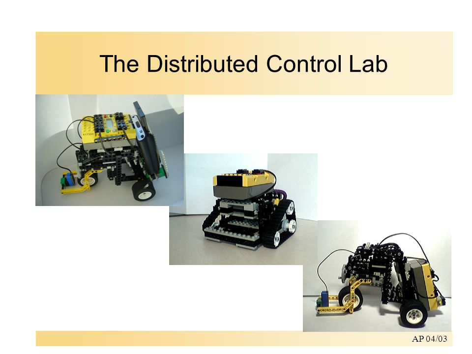 AP 04/03 The Distributed Control Lab