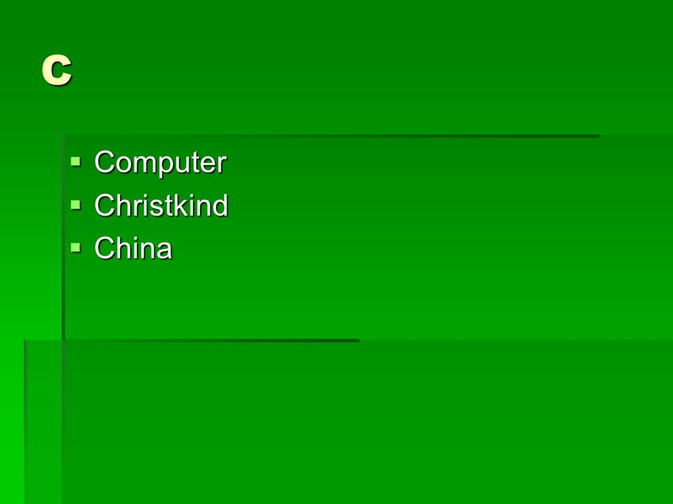C Computer Computer Christkind Christkind China China