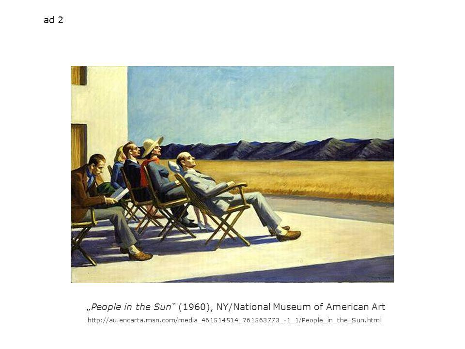 People in the Sun (1960), NY/National Museum of American Art   ad 2