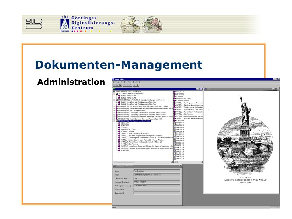 Dokumenten-Management Administration
