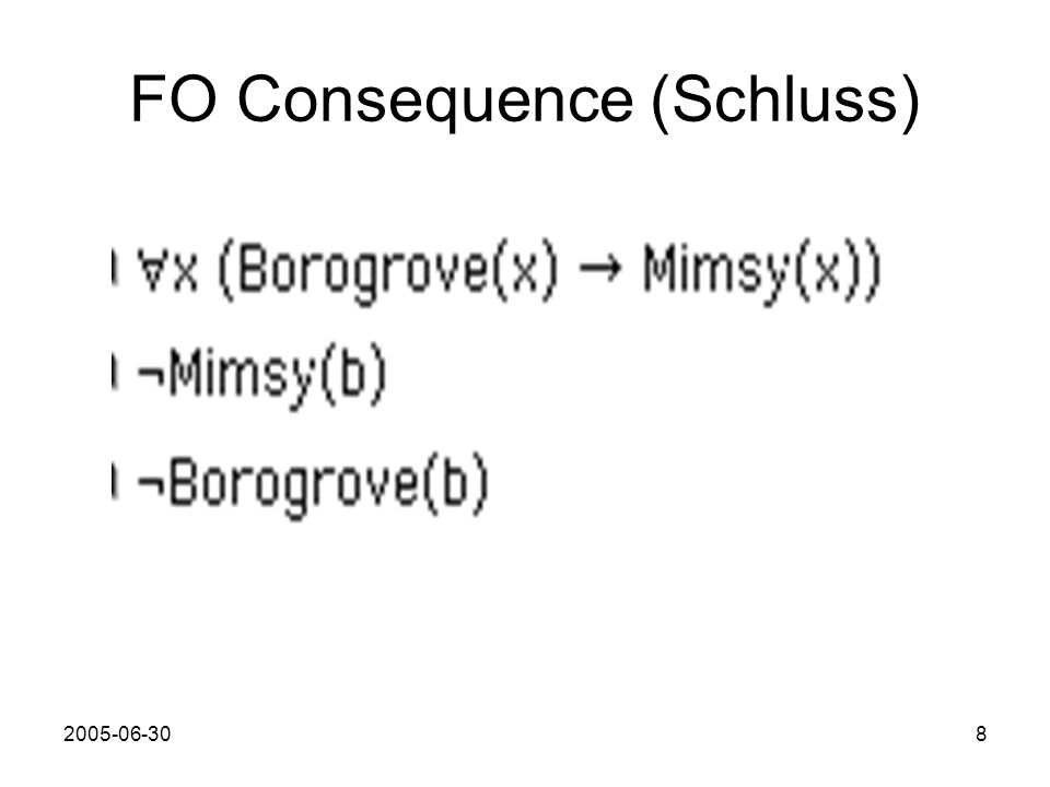 FO Consequence (Schluss)