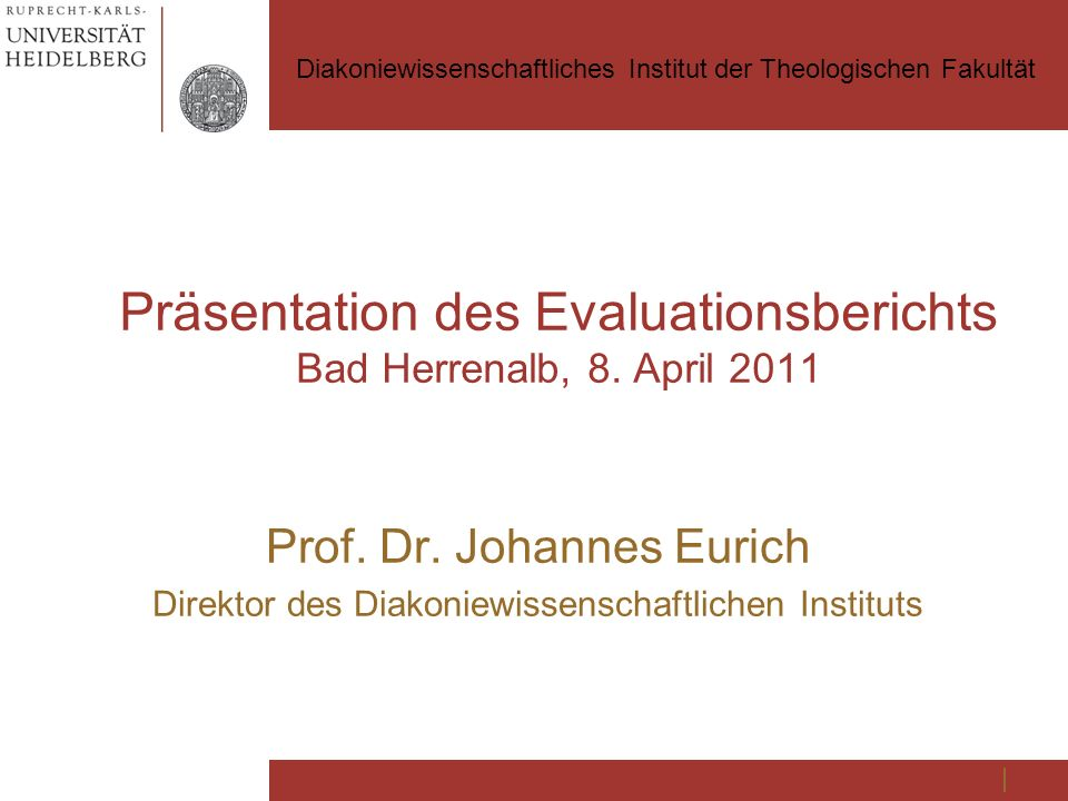 Präsentation des Evaluationsberichts Bad Herrenalb, 8.