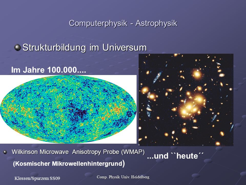 Comp. Physik Univ.