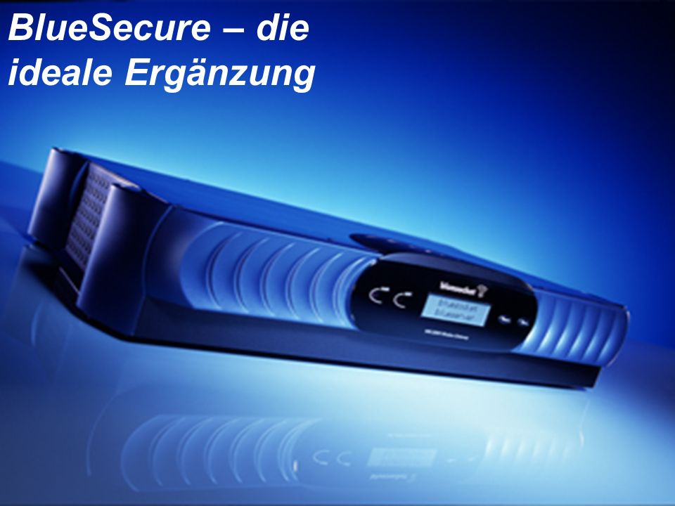 © 2002 Bluesocket, inc. Secure Mobility BlueSecure – die ideale Ergänzung