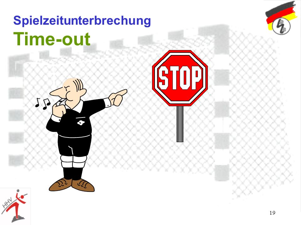 19 Spielzeitunterbrechung Time-out