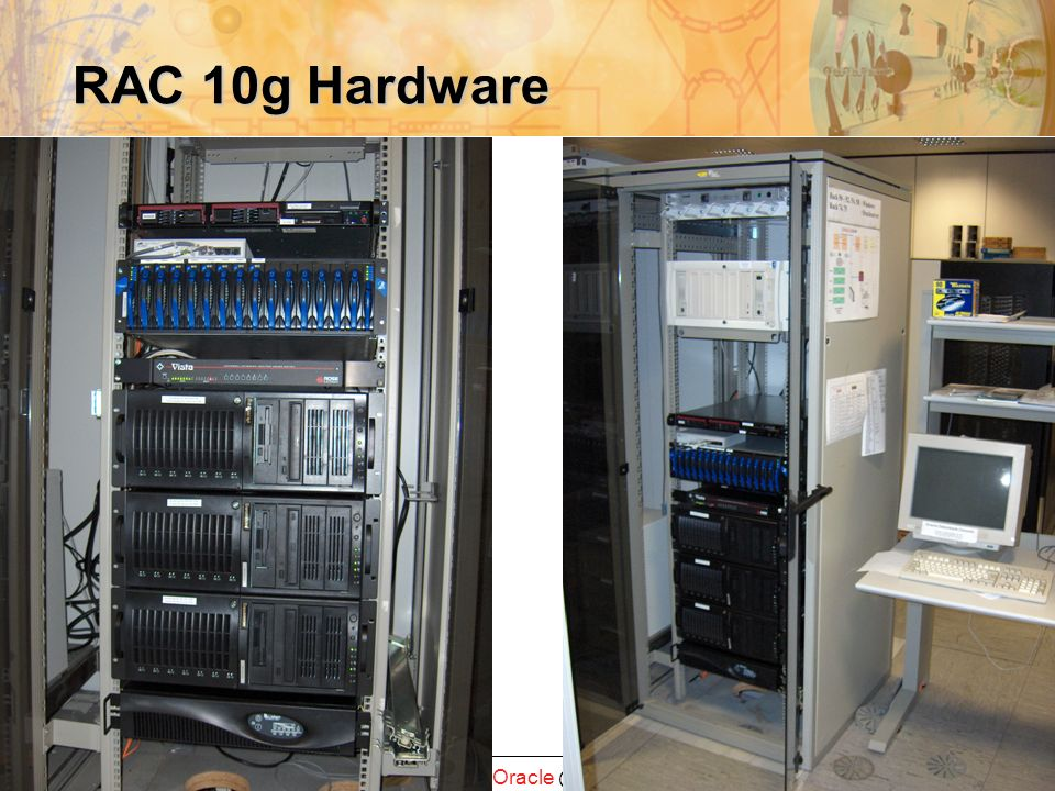 IT-Palaver GSI 10 RAC 10g Hardware