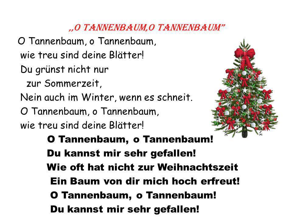 Weihnachtsgedicht Tannenbaum.Tema Kalėdų Ppapročiai Lietuvoje Ir Vokietijoje Uždaviniai