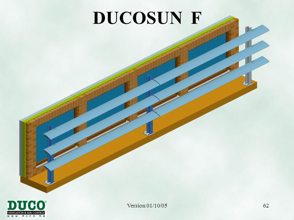 Version 01/10/0562 DUCOSUN F