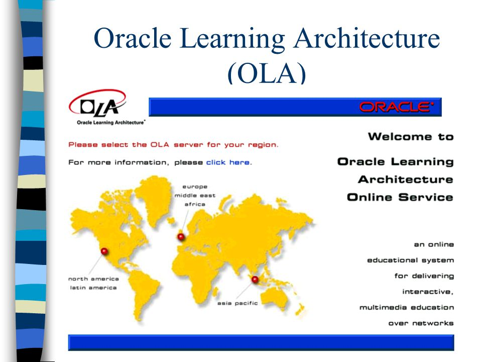 Oracle Learning Architecture (OLA)