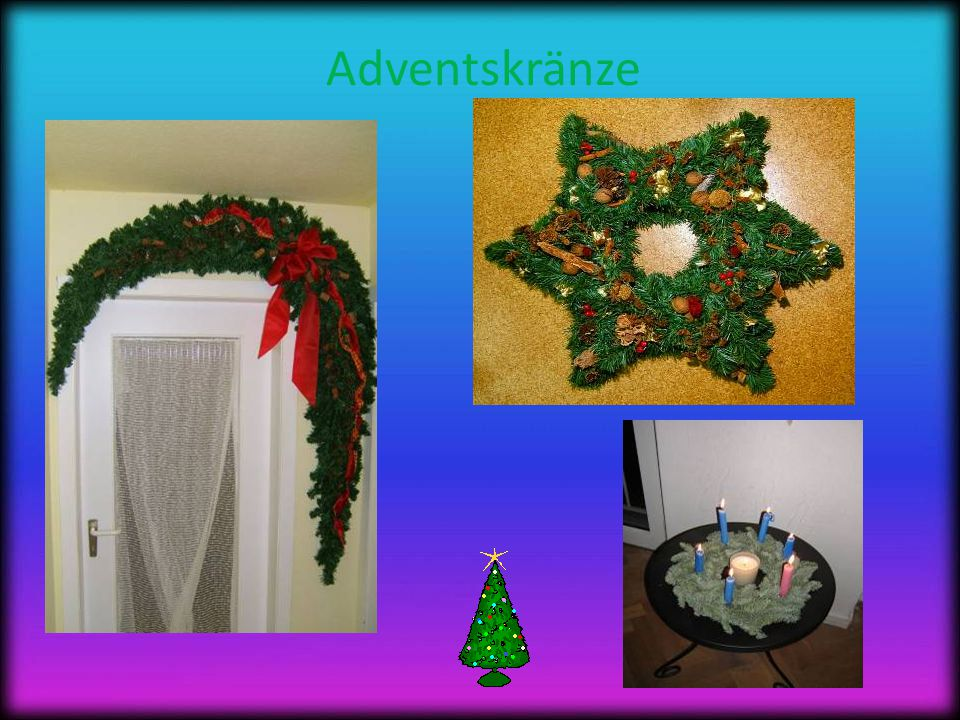 Adventskränze