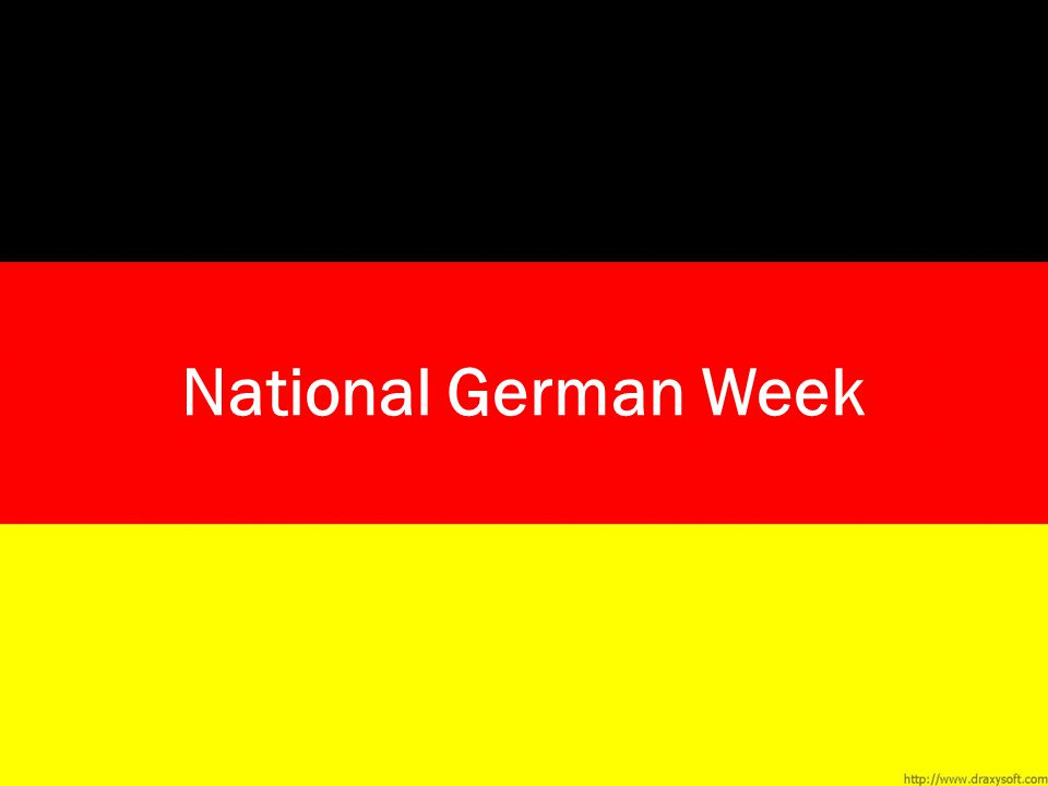 National German Week