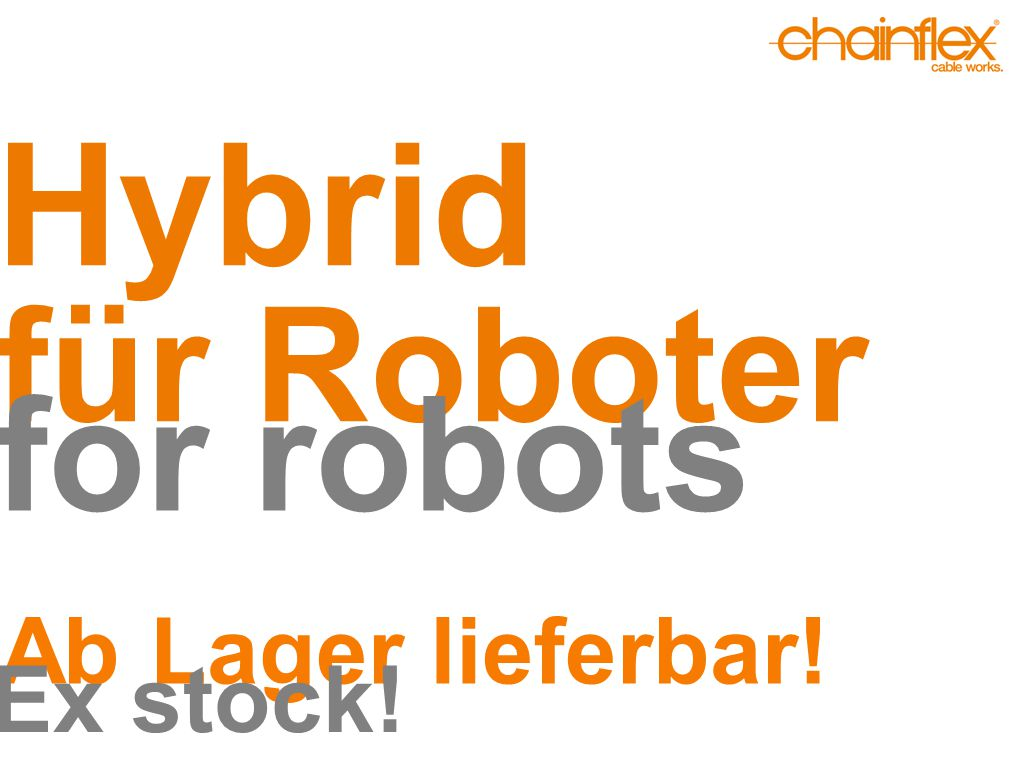 Hybrid für Roboter for robots Ab Lager lieferbar! Ex stock!