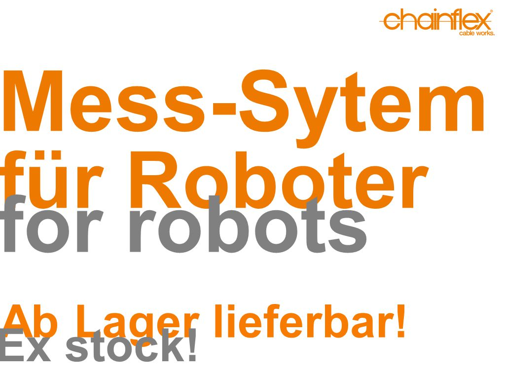 Mess-Sytem für Roboter for robots Ab Lager lieferbar! Ex stock!