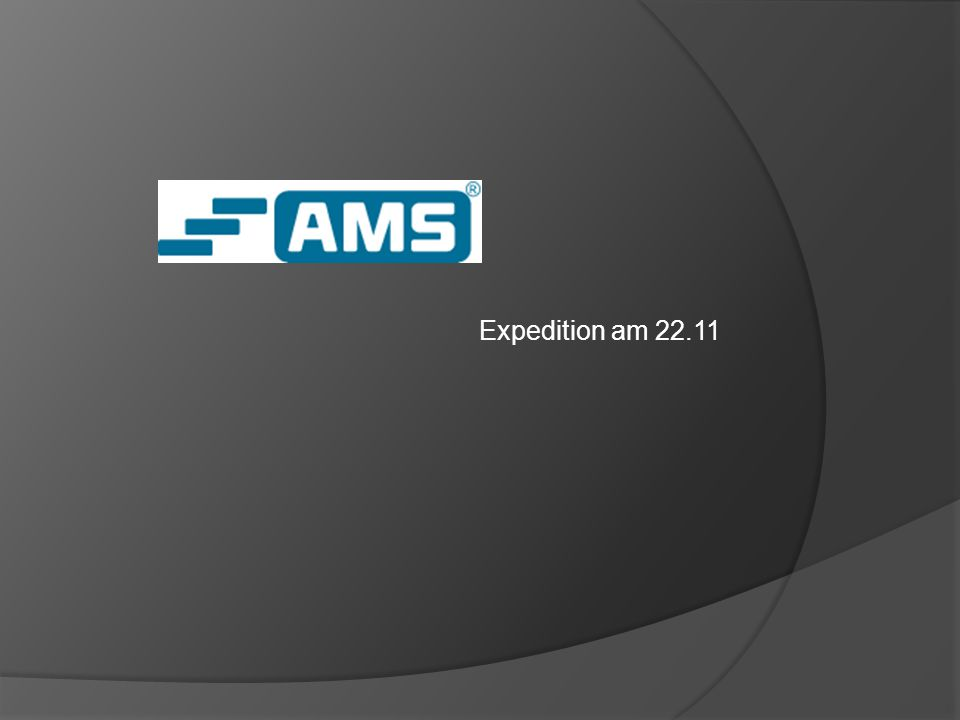 Expedition am 22.11