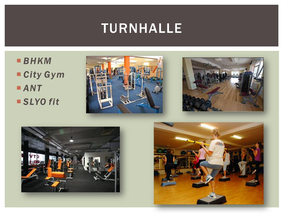  BHKM  City Gym  ANT  SLYO fit TURNHALLE