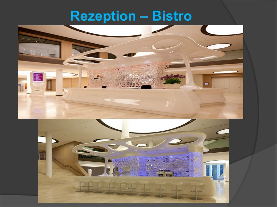 Rezeption – Bistro