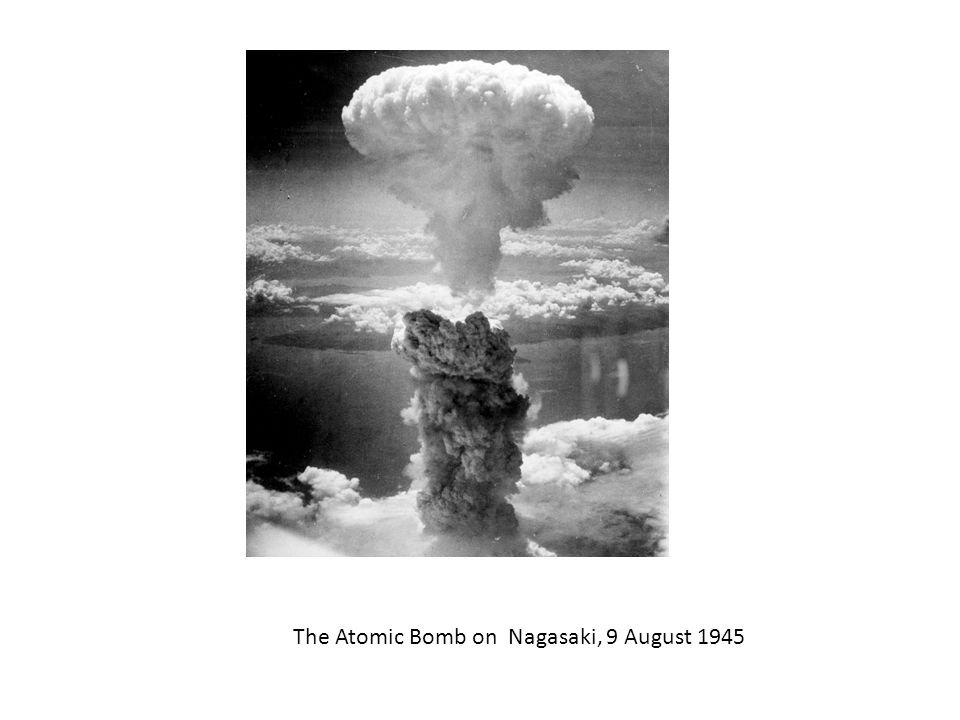 The Atomic Bomb on Nagasaki, 9 August 1945